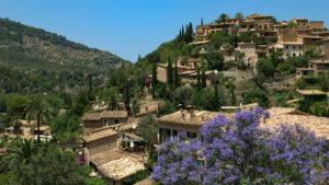 Casas de piedra Deia Mallorca
