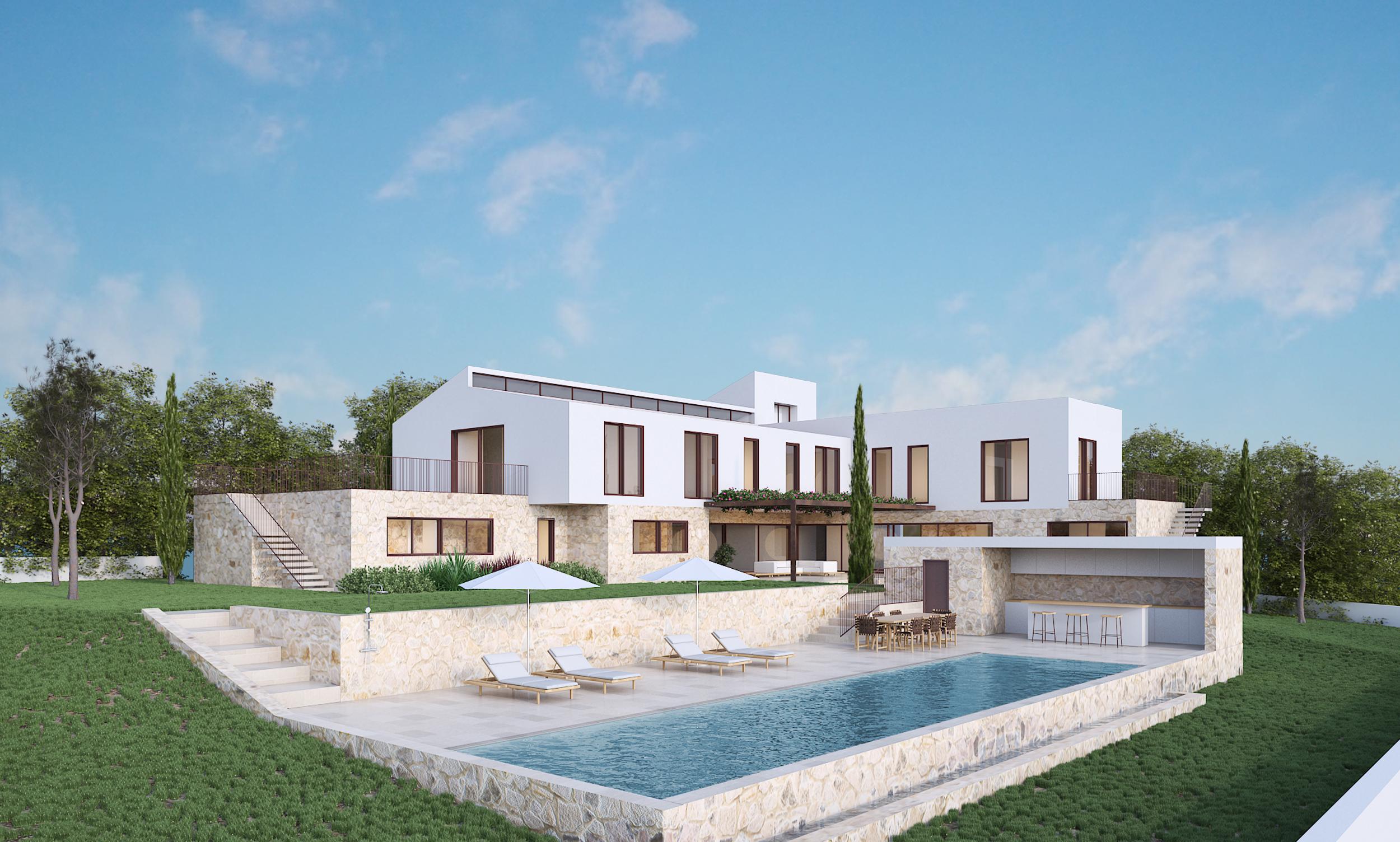 Vivienda unifamiliar con jardines Mallorca