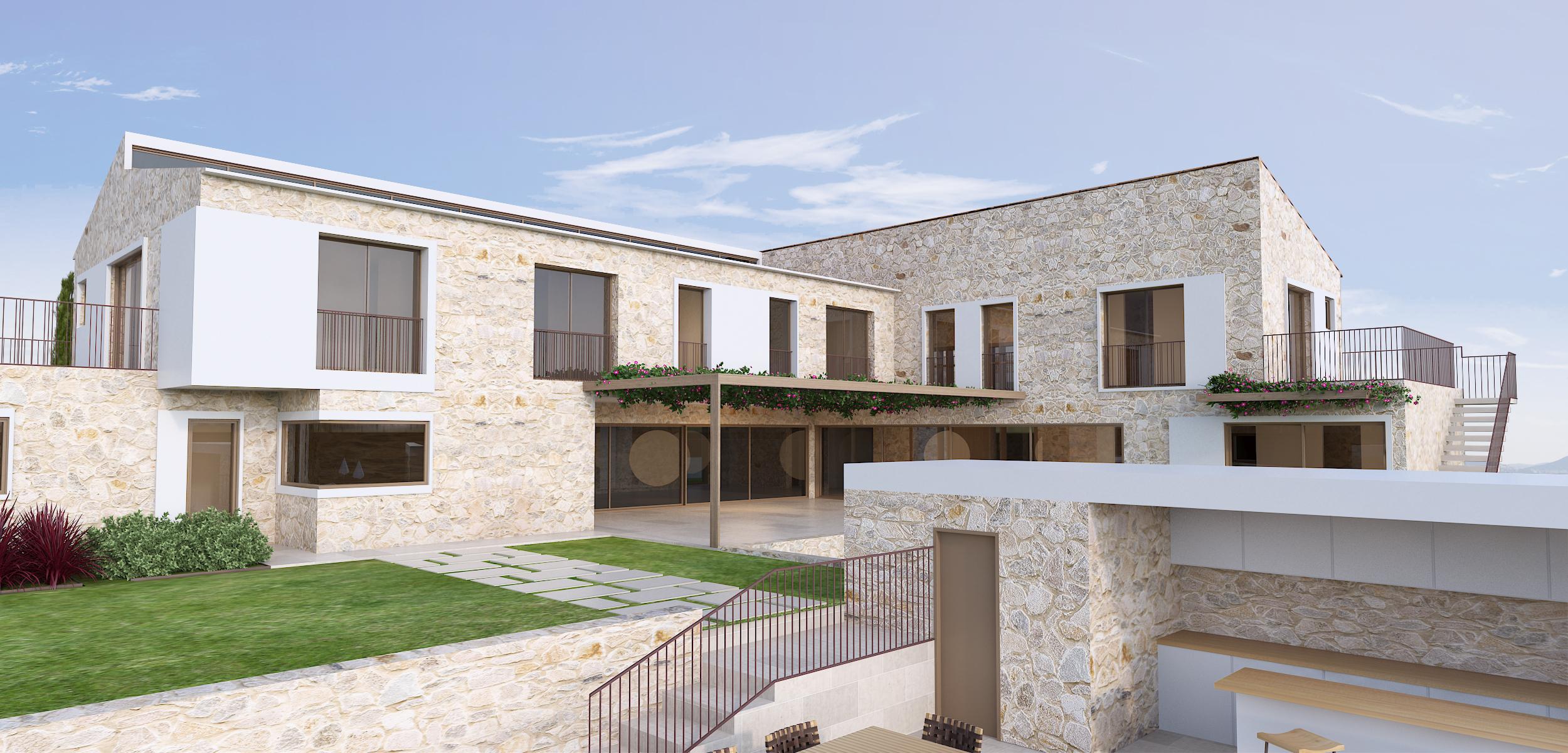 Viv. Unifamiliar aislada con Piscina en Sol de Mallorca 2