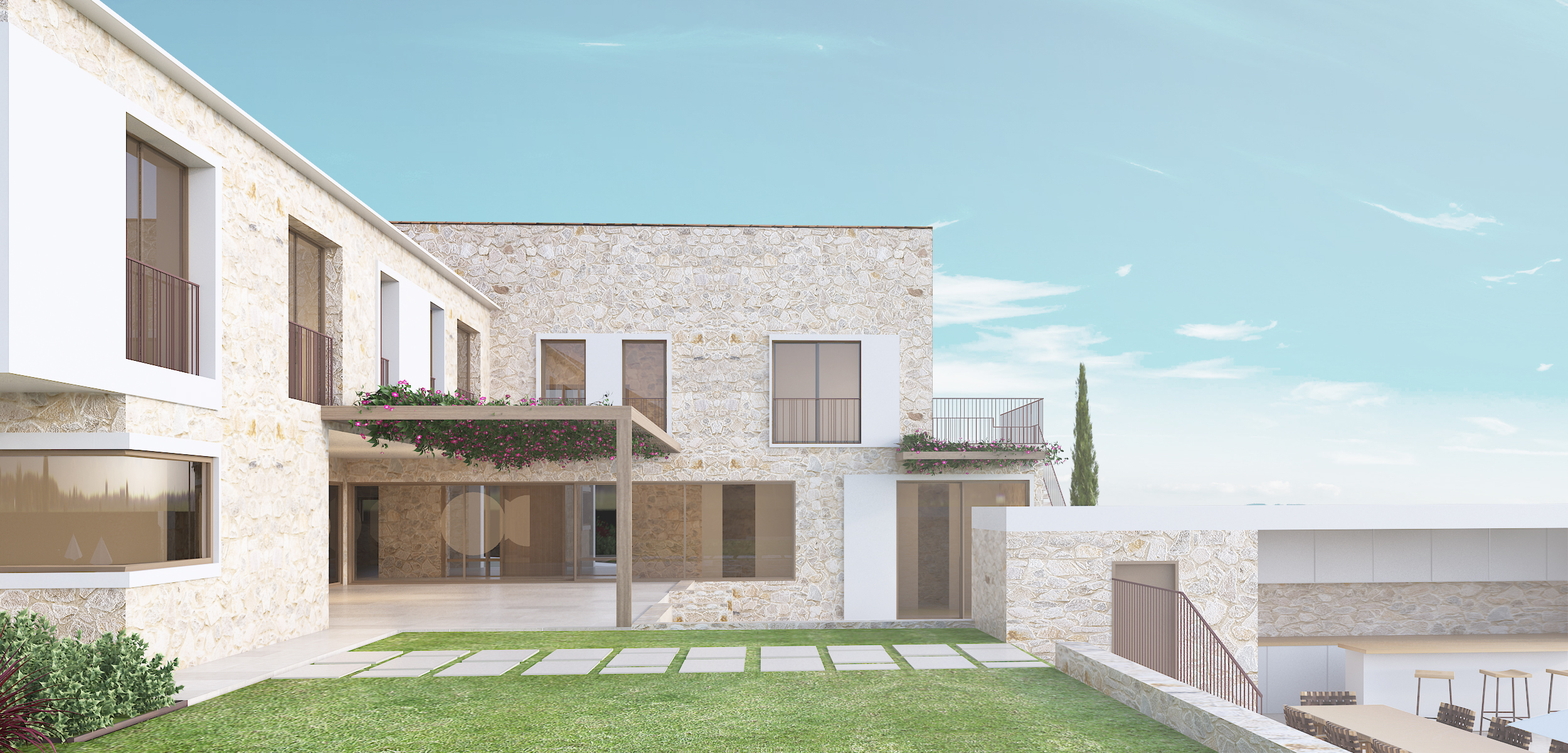 Viv. Unifamiliar aislada con Piscina en Sol de Mallorca